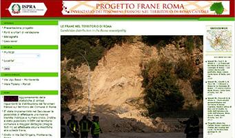 progetto frane Roma
