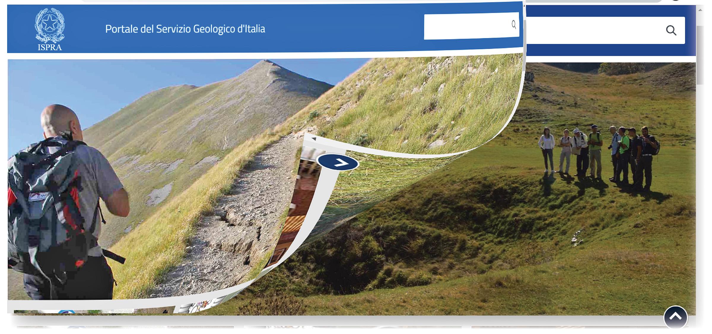 Il Portale del servizio Geologico