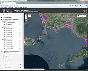 Tsunami Map Viewer